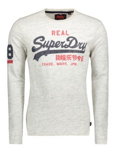 Superdry T-shirt M10012PP VINTAGE LOGO DUO URBAN ICE EQ2