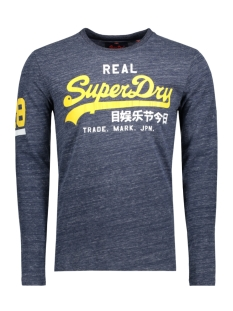 Superdry T-shirt M10012PP VINTAGE LOGO DUO NAVY GRIT EQ5