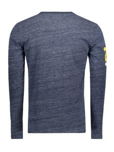 m10012pp vintage logo duo superdry t-shirt navy grit eq5