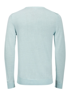 jprmark knit crew neck noos 12109976 jack & jones trui blue haze