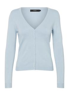 Vero Moda Vest VMGLORY VIPE LS V-NECK CARD NOOS 10137021 Cashmere Blue
