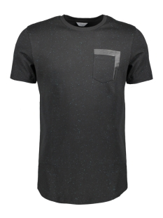 Jack & Jones T-shirt JCOSPIN TEE SS CREW NECK FR 12135714 Black