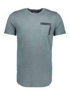 Jack & Jones T-shirt JCOSPIN TEE SS CREW NECK FR 12135714 Gobin Blue