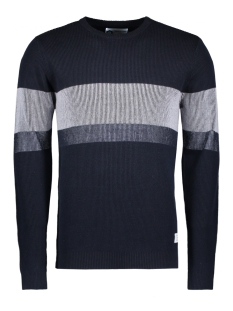 Jack & Jones Trui JCOCOLLINS KNIT CREW NECK CAMP 12131978 Sky Captain