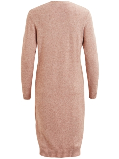 viril l/s long knit cardigan-noos 14042770 vila vest bridal rose