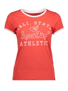Superdry T-shirt G10004RQ MJ6 AHOY RED