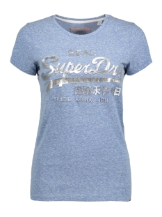 Superdry T-shirt G10005FQ UM0 (Cali Blue Snowy)