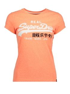 Superdry T-shirt G10006SQ NE8 (Fluro Coral Snowy)