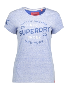 Superdry T-shirt G10006XQ NV2 (Maritime Blue Reverse Dyed)