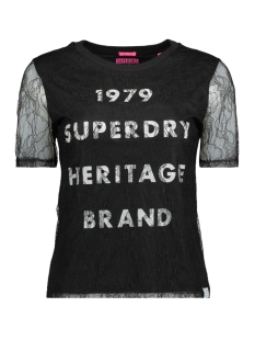 Superdry T-shirt G60002BQ 02A (Black)