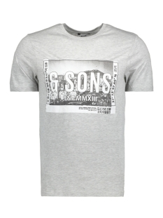 Only & Sons T-shirt onsSTUART SS TEE 22009209 Light Grey Melange