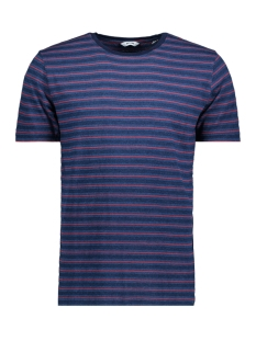 Only & Sons T-shirt onsINDIGO CHI STRIPE TEE 22009336 Medium Blue Denim