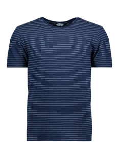 Only & Sons T-shirt onsINDIGO CHI STRIPE TEE 22009336 Dark Blue Denim