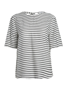 Pieces T-shirt PCMISA 2/4 TOP 17088148 Cloud Dancer/GROUND COL