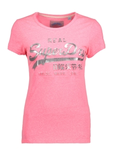 Superdry T-shirt G10005FQ AS1 (Fluro Pink Snowy)