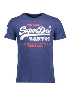 m10006pq superdry t-shirt frontier blue ng7