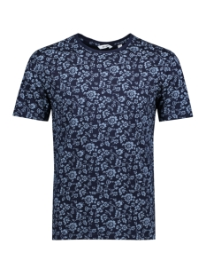 Only & Sons T-shirt onsMILO INDIGO FLOWER SS TEE EXP 22009510 Night Sky