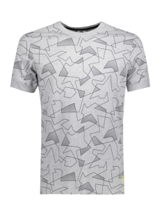 Jack & Jones T-shirt JCOJACK TEE SS CREW NECK 12132161 Light Grey Mela/ SLIM