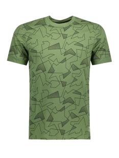 Jack & Jones T-shirt JCOJACK TEE SS CREW NECK 12132161 Vineyard Green/SLIM