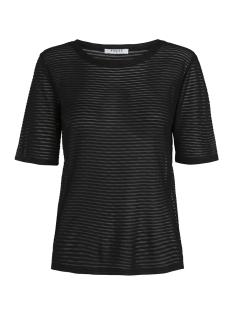 Pieces T-shirt PCMANNA  2/4 TEE 17089253 Black