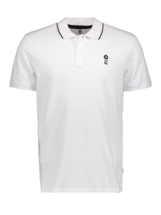Jack & Jones Polo JCOSTONE POLO SS NOOS 12119176 White