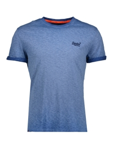 Superdry T-shirt M10006TQ LOW ROLLER PX2 NAVY