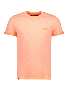 Superdry T-shirt M10006TQ LOW ROLLER ORANGE