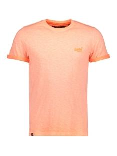 Superdry T-shirt M10006TQ LOW ROLLER ORANGE
