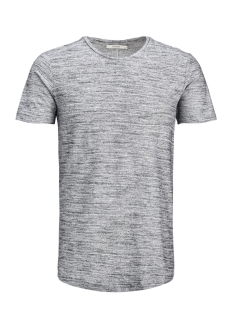 Jack & Jones T-shirt JPRHUGO TEE SS CREW NECK STRUCTURE 12136473 White
