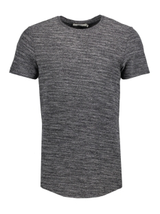 Jack & Jones T-shirt JPRHUGO TEE SS CREW NECK STRUCTURE 12136473 Black