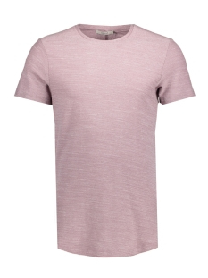 Jack & Jones T-shirt JPRHUGO TEE SS CREW NECK STRUCTURE 12136473 Toadstool