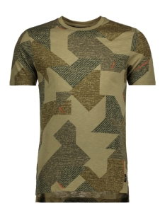 Only & Sons T-shirt onsSYLAS AOP SS TEE 22009230 Dried Herb