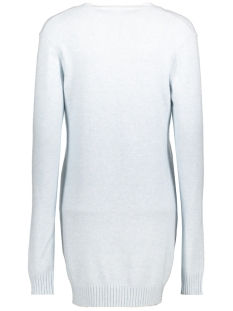 viril l/s  open knit cardigan-fav 14044095 vila vest plein air/melange