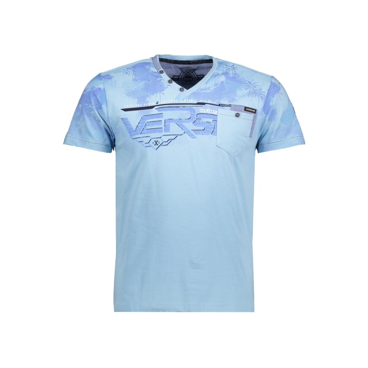 13871 gabbiano t-shirt light blue