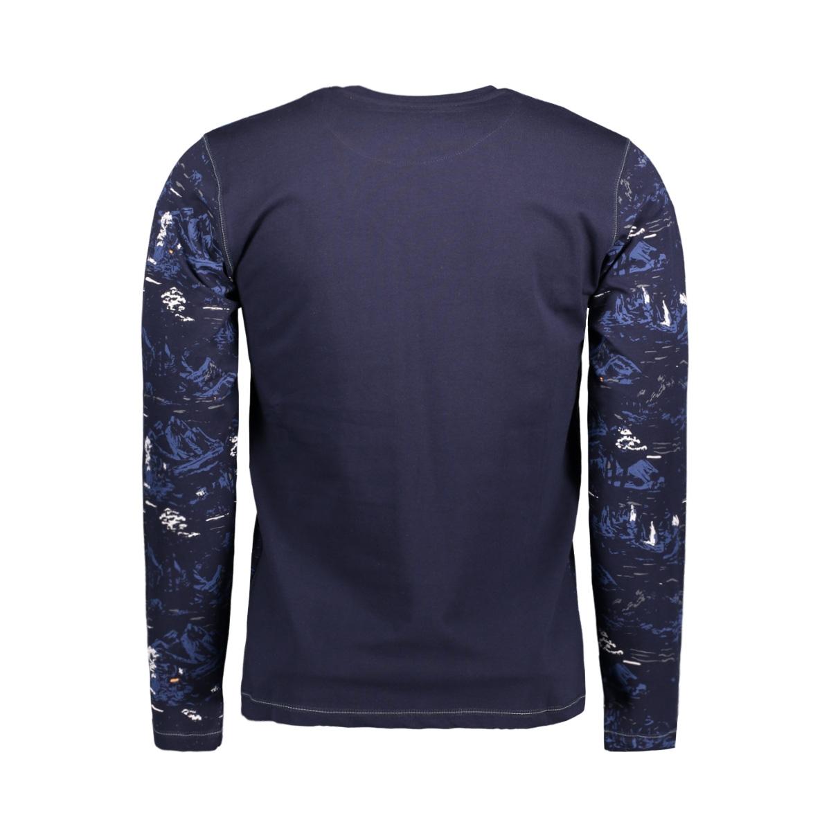 13847 gabbiano t-shirt navy