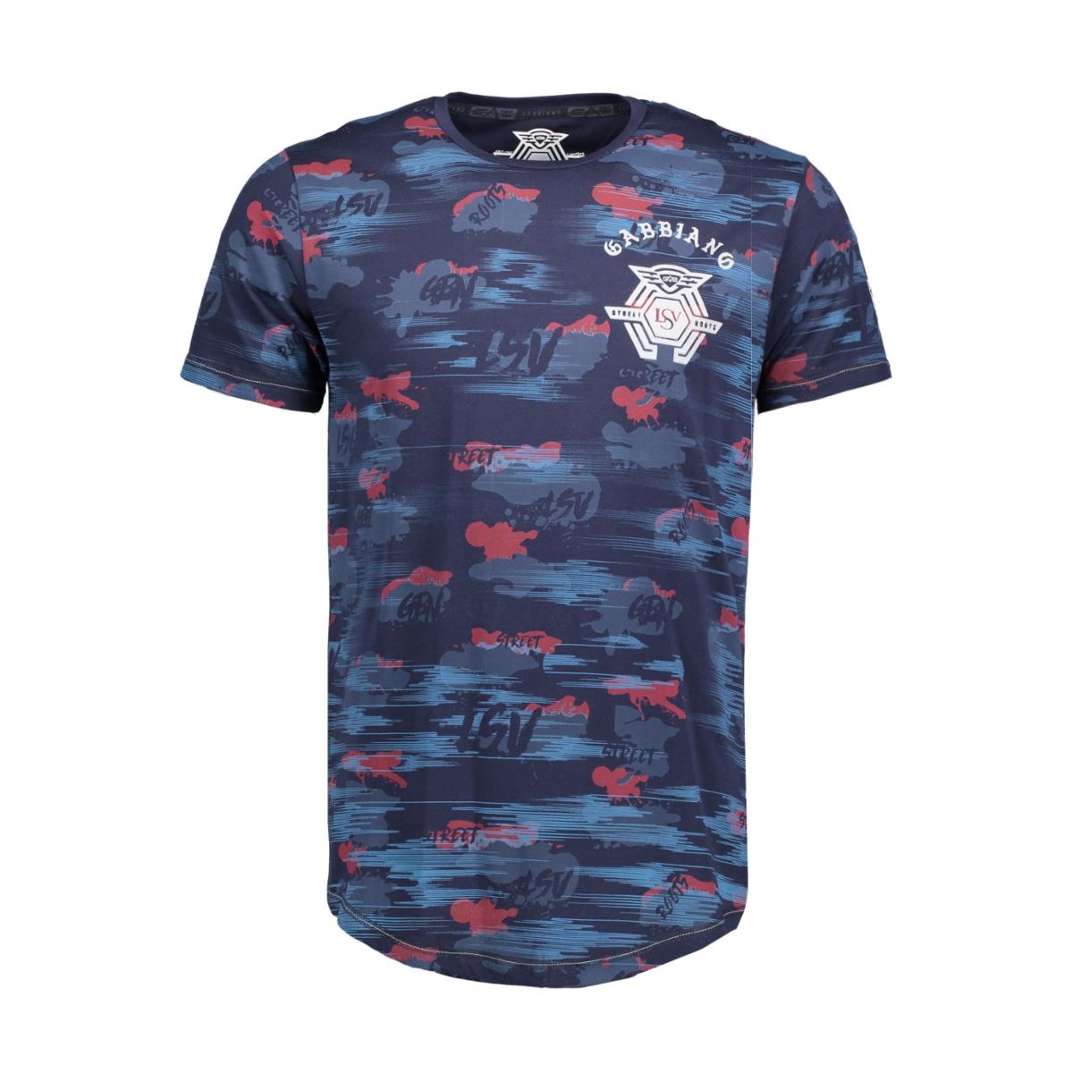 13862 gabbiano t-shirt navy