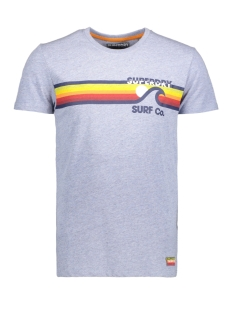 Superdry T-shirt M10012XQ SURF CO 30G BLUE