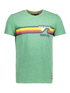 Superdry T-shirt M10012XQ SURF CO OU7 GREEN