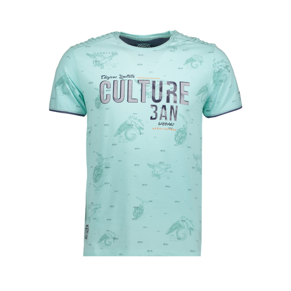 13886 gabbiano t-shirt light mint