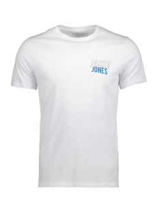 Jack & Jones T-shirt JCOBOOSTER TEE SS CREW NECK MARCH 12138776 White