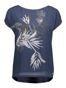 Garcia T-shirt O80006 70 Marine