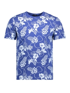 Only & Sons T-shirt onsMIO FLOWER SS TEE EXP 22010609 Sodalite Blue