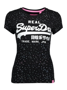 Superdry T-shirt G10007FQDS 02A (Black)