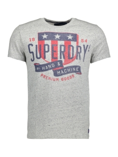 Superdry T-shirt M10017HP DZ6 (Granit Grey Snowy)