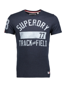 Superdry T-shirt M10120XPF5 DT2 (Blue Black Grit)