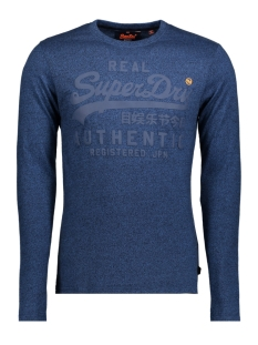Superdry T-shirt M60026XP DT2 (Blue Black Grit)