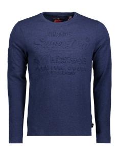 Superdry T-shirt M10003PP CS2 (Bright Navy Grit)