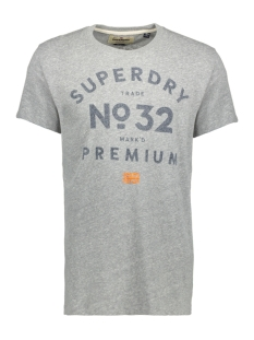Superdry T-shirt M10022XO XBO (Grey Marl Snowy)