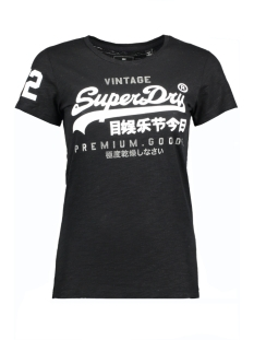 Superdry T-shirt G10002XP KG2 (Night Star Black Lurex)