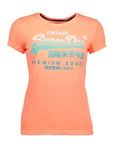Superdry T-shirt G10003XP MMF (Fluro Coral)
